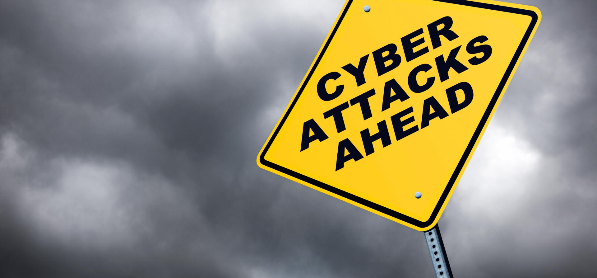 Cyber Attack Sign